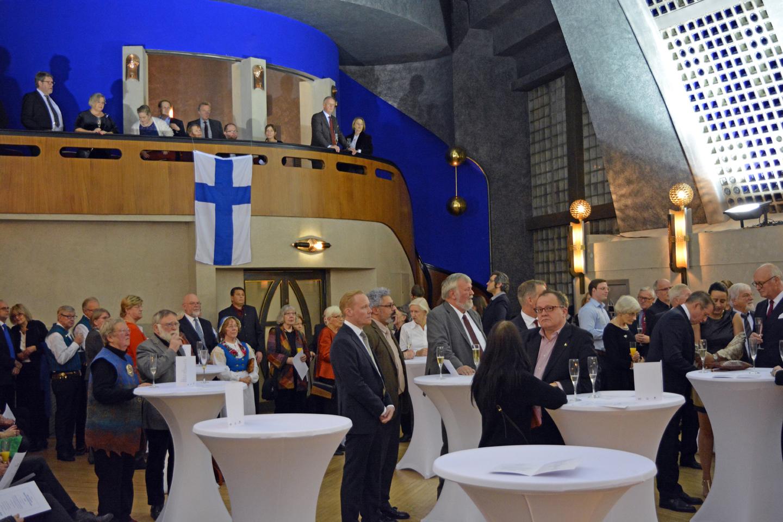 Suomi-Finland 100 im Bremer Himmelssaal / Fotograf: Anton Wassiljew